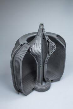 3D-gedruckte Aerospike Düse Querschnitt