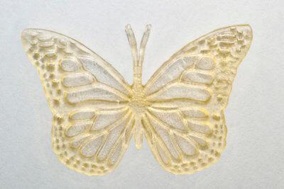 3D-gedruckter Schmetterling