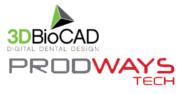 Logo 3DBioCAD und Prodways