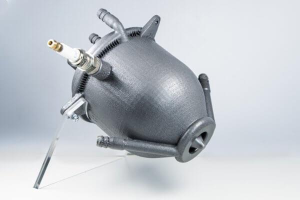 3D-gedrucktes Aerospike Triebwerk
