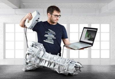Artec 3D Gearbox Eva