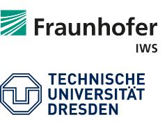 Logo Fraunhofer IWS und TU Dresden
