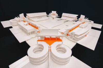 3D-Modell Hardrock Stadion