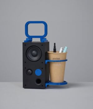 """3D-gedruckter Frekvens-Hack """"Take away"""""""