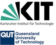 Logo Karlsruher Institut für Technologie und Queensland University of Technology