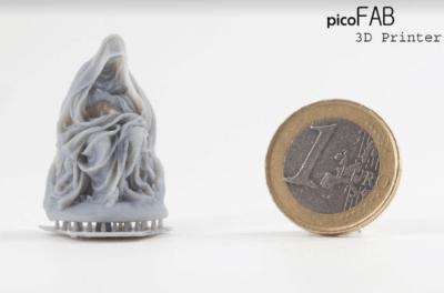 Druckbeispiel neben 1 Euro Münze