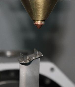 Automatisierter Laserbeschichtungsprozess