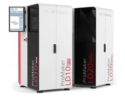 3D-Drucker LD20 und LD10 von Prodways