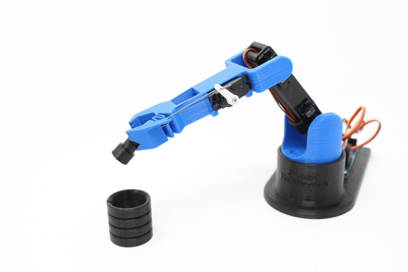 """Slant Robotics stellt Version 3 seines """"LittleArm""""-Roboterarms für Hobby-Makers vor"""