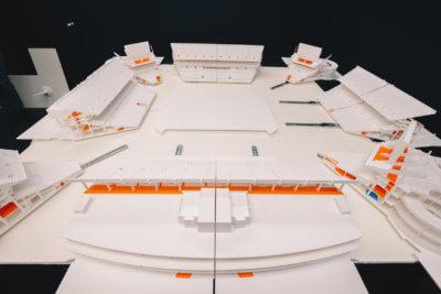 3D-Druck-Modell Hardrock Stadion