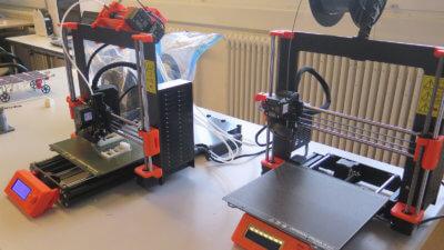zwei 3D-Drucker Prusa i3 MK3