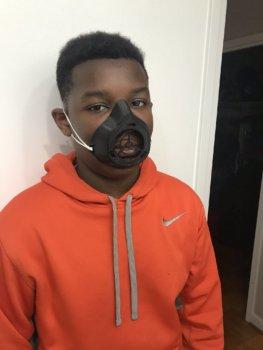 Atemschutzmaske aus dem 3D-Drucker