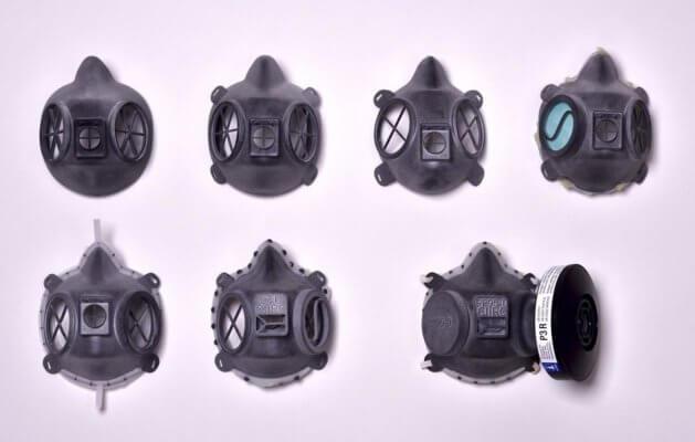 Masken im Kampf gegen die COVID-19-Pandemie