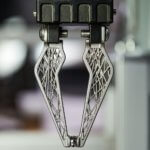 3D-gedruckter Greifer des IWU mit Sensoren