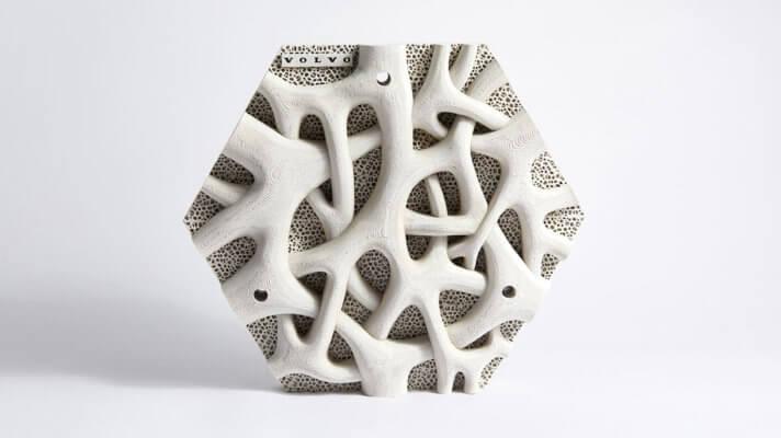 3D-gedruckte Platte