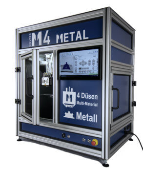 M4 Metal 3D-Drucker