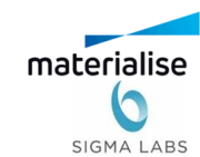 Materialise und Sigma Labs Logo