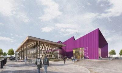 NMIS-Gebäude Entwurf