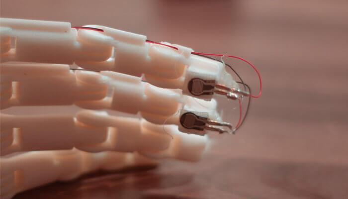 Sensoren in den Fingerspitzen