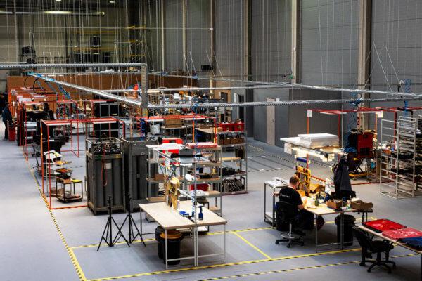 neuer Produktionsstandort in Krakau (Innenansicht)