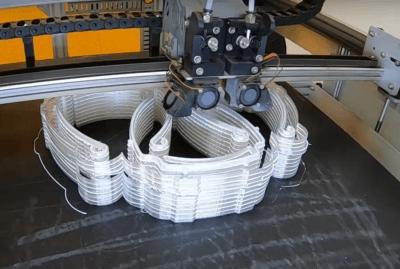 3D-Druck der Halterung