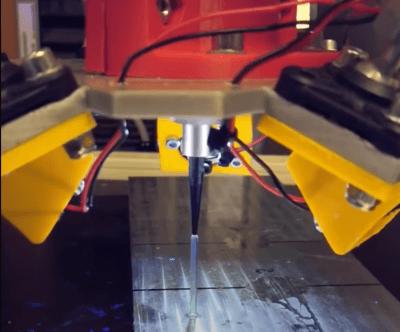 Stab wird gedruckt (Video-Screenshot)