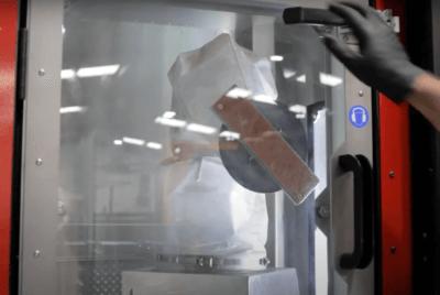 Objekt im Metall-3D-Drucker