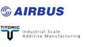 Logo Airbus und Titomic