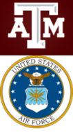 Logo ATM University und U.S. Air Force