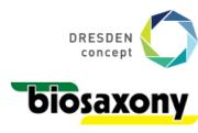 Logo DRESDEN-concept und biosaxony e.V.