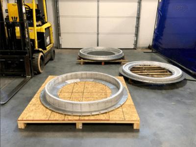 Metall-3D-Druck-Objekte