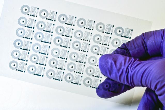 3D-gedruckter Schaltkreis