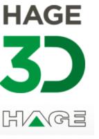 HAGE3D und HAGE Sondermaschinenbau Logos