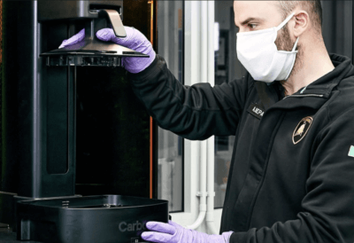 3D-Druck von Schilden mit Carbon 3D-Druckern