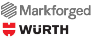 Logo Markforged und Würth Group