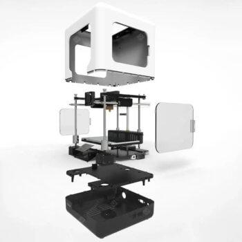 Zusammenbau und Aufbau des FULCRUM MINIBOT 1.0 3D-Druckers