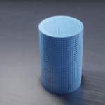 Bild mit zylindriger Form