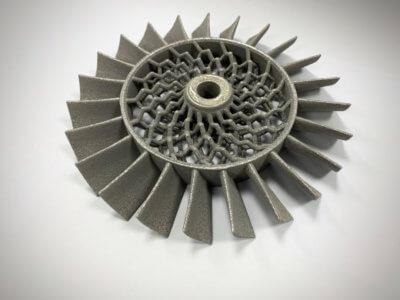 Mit NeuBeam 3D-gedrucktes Teil