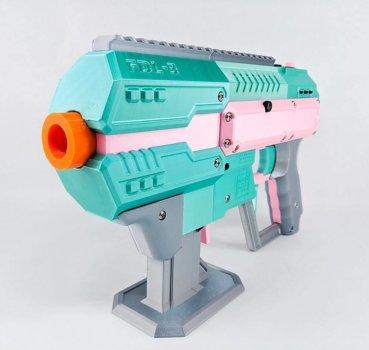 Schaum-Darts-Pistole aus dem 3D-Drucker