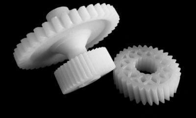 3D-gedruckte Zahnräder