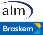 ALM und Braskem Logo
