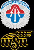 Logo der AMCOM und der WSU