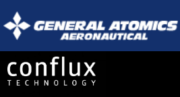 General Atomics Aeronautical Systems und Conflux Technology Logos