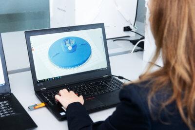 3D-Modell Filtereinheiten