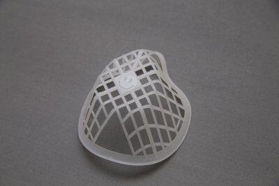 Maske ohne Filtermaterial