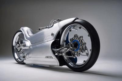 """""""Fuller Moto 2029"""" Seitenansicht"""