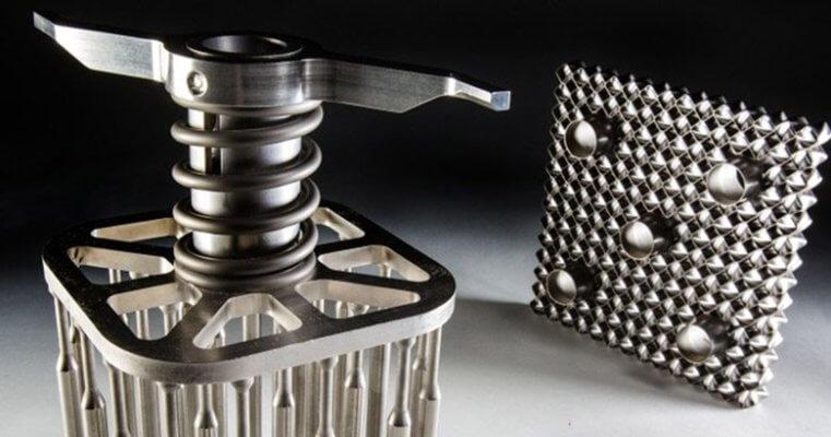 3D-gedruckte Komponente