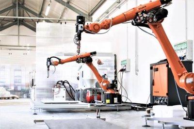 Roboterarme von KUKA