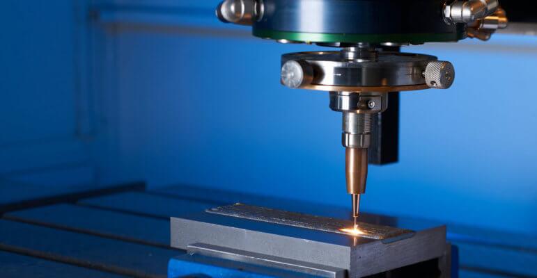 Symbolbild Laserauftragsschweißen