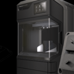 MakerBot METHOD Carbon Fiber Edition und 3D-Druckobjekt